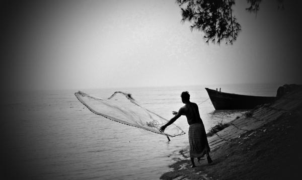 Net to Catch... by Dibyajit