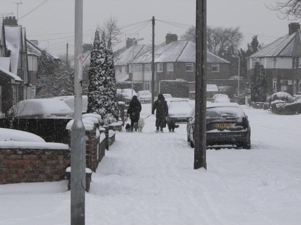 London Snow! by AgeingDJ