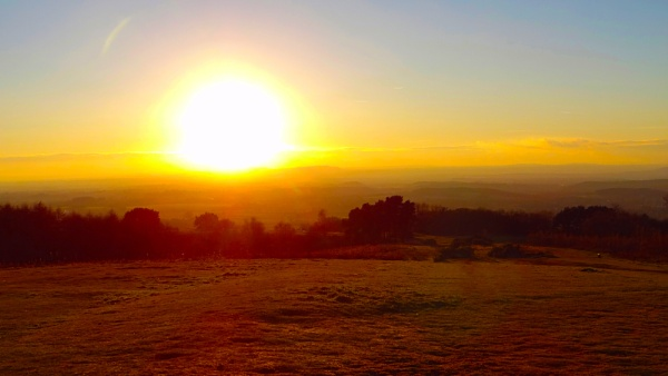 sunset in clent hills by outdoorbill