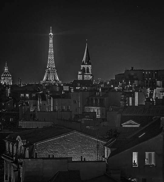 paris rooftops by Paddy_photos