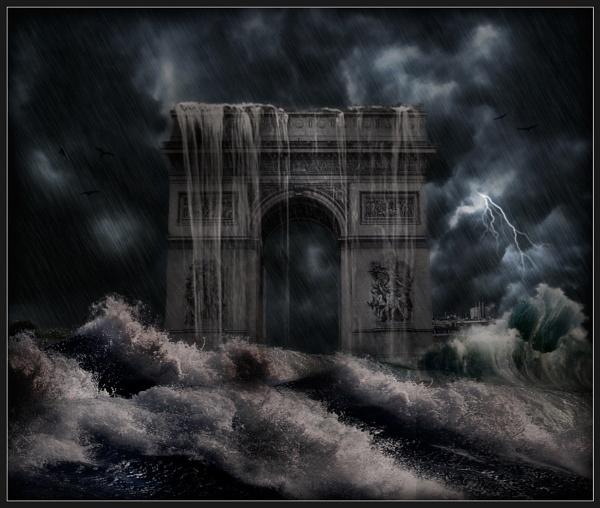 Paris Storm by Morpyre