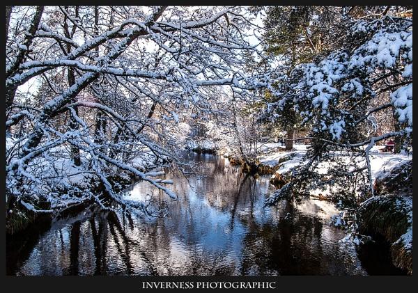A river runs through Winter Wonderland by jjmills