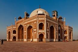 The Tomb of the Emperor Humayun, Delhi