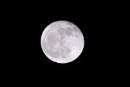 Full moon in January