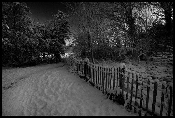 SNOW DEREHAM NORFOLK by GYPSYOFTHESKY