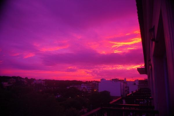Sunset on Majorca mid November 2012 by davevee