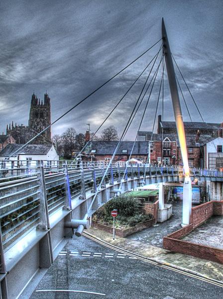 Wrexham Footbridge by wynn469