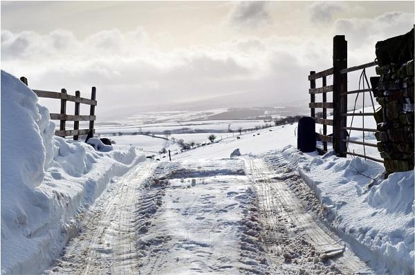 snowy view by gmorley
