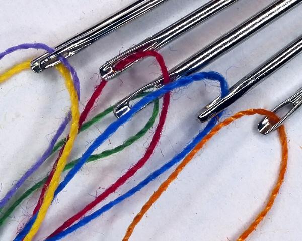 Threaded Needles by jbsaladino