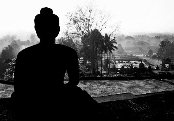Borobudur View by mbeghidaxz