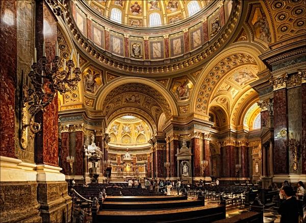 St Stephen\'s Budapest by KMRennie