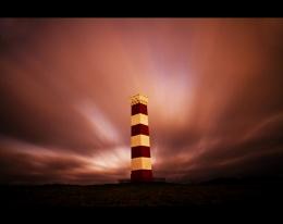 Gribben Daymark, South Cornwall coast