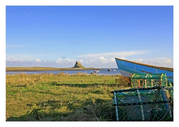 Lindisfarne Fishing by robsherrattdesign