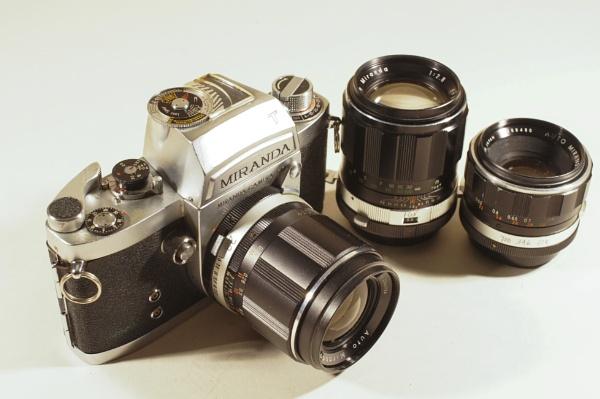 Miranda - Vintage Camera Collection III by Swarnadip