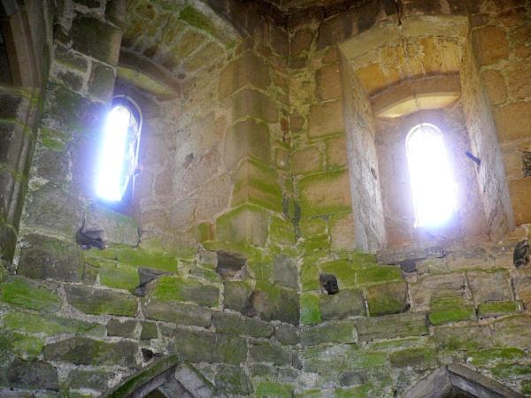 Inside Bodiam Castle by brianpatcham