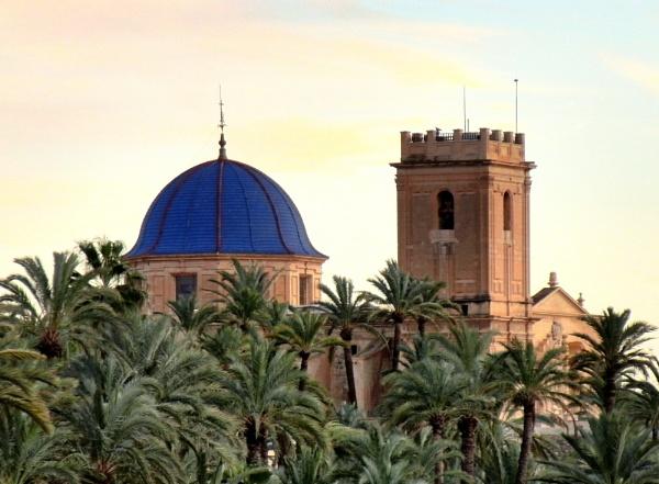 Basílica Menor de Santa María de Elche.