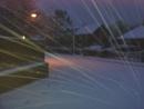 Driving snow