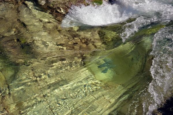 Opal Creek - Springtime Runoff by mikeoregon