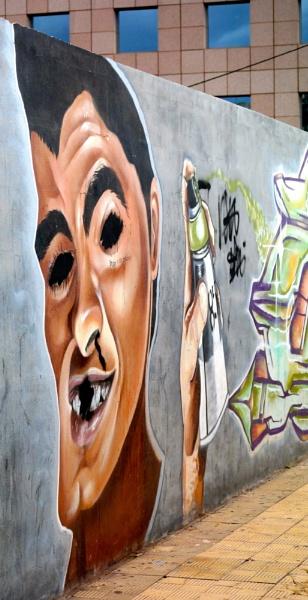 Graffiti in Puerto de la Cruz by Lelah