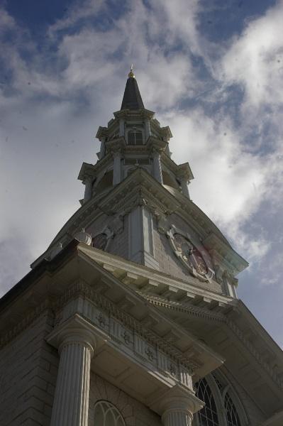 ~ 1st Unitarian Church Steeple by LexEquine