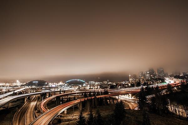 Fog and lights 1 by guitarman74uk