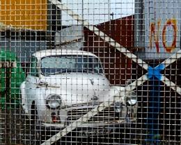 Car Behind Bars