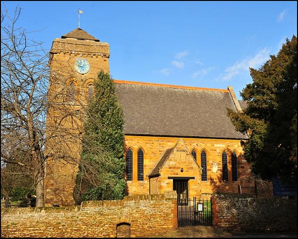 Weston Favel Parish Church by strokebloke