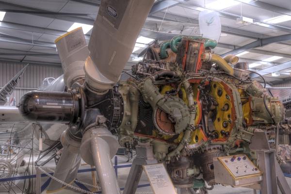 Bristol Centaurus Mark 173 Engine by TonyBrooks