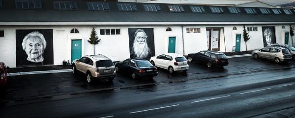 Reykjavik faces by ollimar71