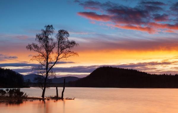 Pityoulish sunset by Dallachy