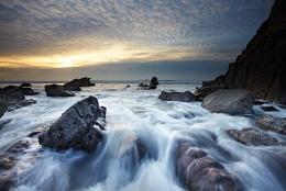 Sandymouth Sunset