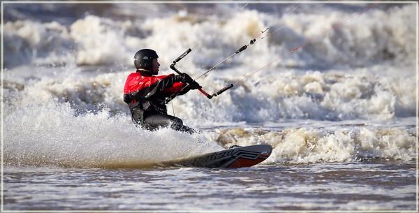 Kitesurfing by Johno450