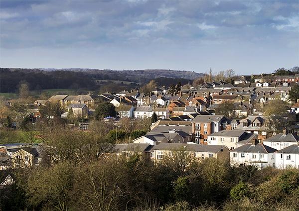 View across Hemel by jadedhills