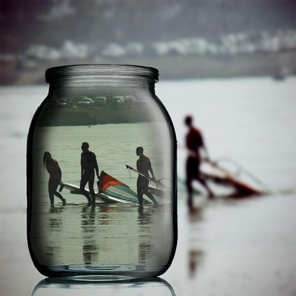 Surfers Jar by jono1975