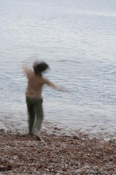 Skimming by DaveNib