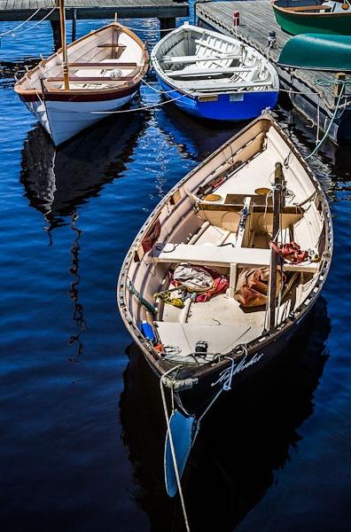Huon River boats by david1810