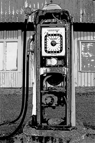 Brora Garage Pump by ErictheViking