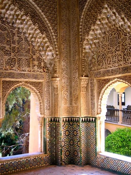 The Alhambra, Grenada, Spain by Lelah
