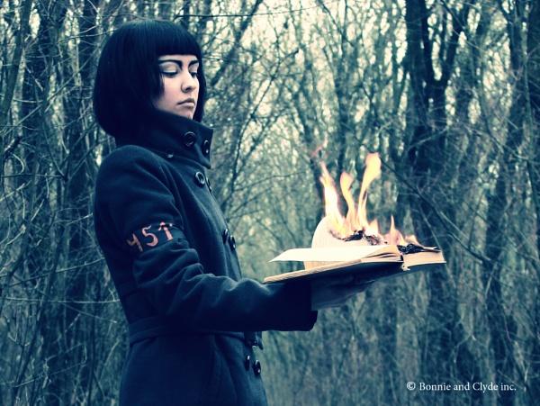 Fahrenheit 451. Sadness by AlionaSorocov