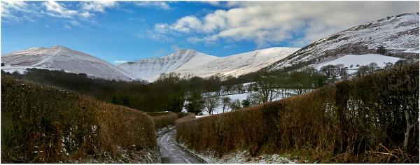 Pen Y Fan In Winter by Alan_Coles