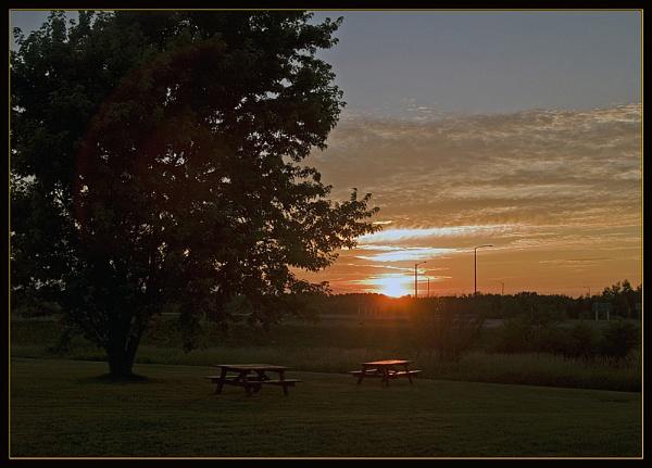 Sunset by JimV
