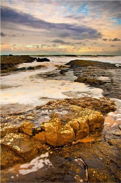 Harkess Rocks ,Bamburgh  Beach