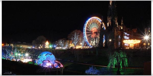 Winter wonderland fair Edinburgh by icemanonline