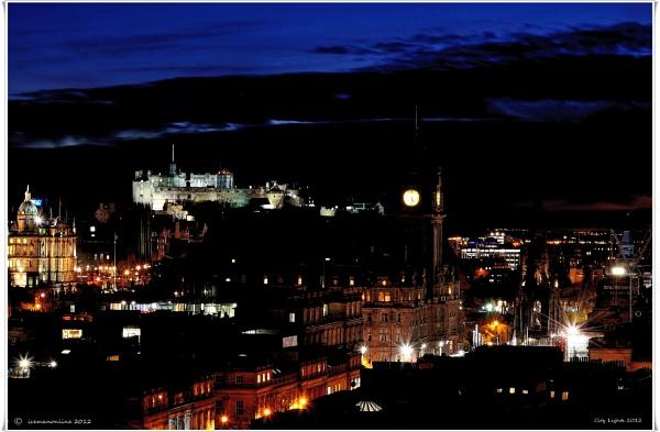 Edinburgh city by icemanonline