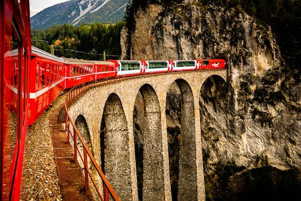 Landwasser Viaduct, Switzerland by seahawk