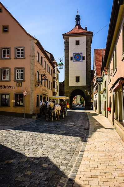 Rothenburg ob der Tauber by seahawk