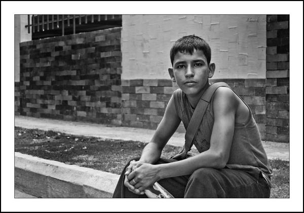 Santa Marta Water seller by markst33