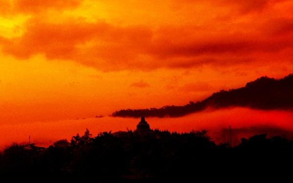 "Orange Temple \""Borobudur\"" by mbeghidaxz"