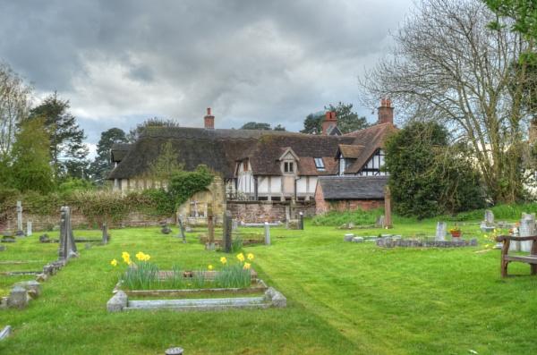Edgmond parish graveyard