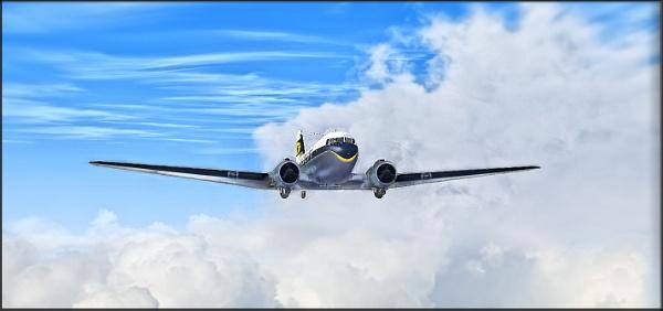 Douglas DC-3 by paulmanneringphotos
